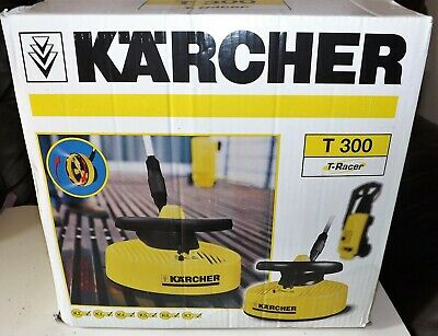 Karcher T300 T-Racer Patio Cleaner Attatchment with Extention Lance EXC. COND.