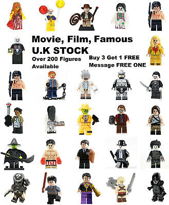 Movie Film Horror Minifigure Lego & Custo Minifigures BUY 3 & 1 FREE Mini Figure