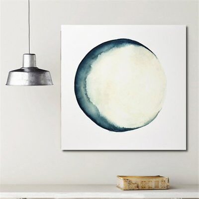 Eclipse Moon Modern Painting Canvas Wall Art Picture Paint Home Decor Unframed