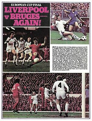Liverpool - European Cup Semi & Final - 1978 Full Page Magazine Picture