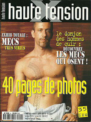 HAUTE TENSION presse érotique gay - lot des N° 4 - 5