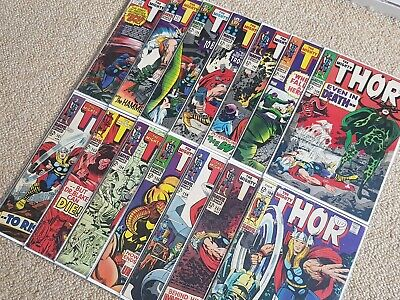 💥 Journey into Mystery with The Mighty Thor Bundle SILVER AGE Comic Job Lot 💥