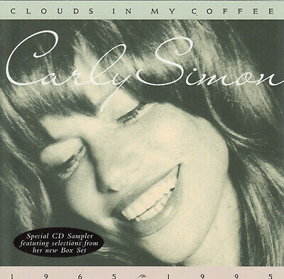 Carly Simon- Selections From Clouds In My Coffee CD In Store Promo