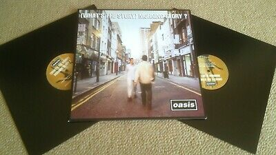 Oasis – (What's The Story) Morning Glory – 2014 Double Lp In Gatefold – Big Brot