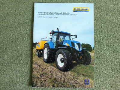FARM TRACTOR BROCHURE - New Holland - T6000 Delta series