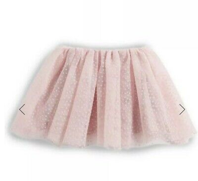 Pink Baby Girls Spotted Flock Tutu Skirt, Mamas And Papas, 3-6 Months, BNWOT
