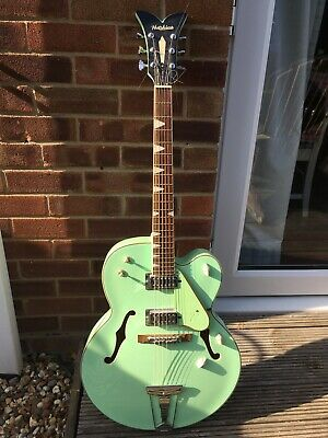 Hutchins Memphis (Mint Green) Archtop Electric Acoustic Guitar not Gretsch