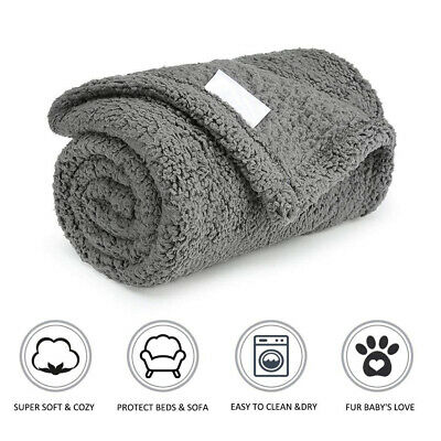 Warm Blanket Puppy Summer Soft Plush Bed Mat Anti Skid Pad For Pet Dog Cat