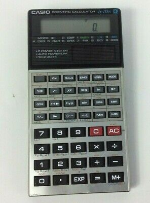 Casio Solar Powered FX-115N Scientific Calculator - Vintage / Retro 1980's
