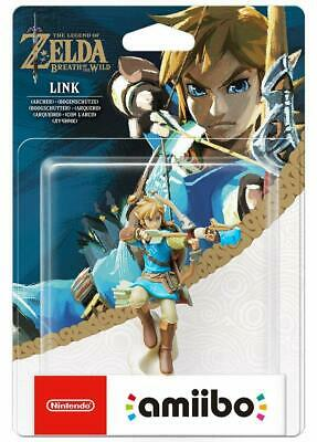 AMIIBO NINTENDO SWITCH  The Legend of ZELDA BREATH OF THE WILD LINK ARCHER  New