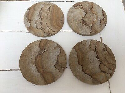 Thurstystone Natural Sandstone Set of Four Coasters