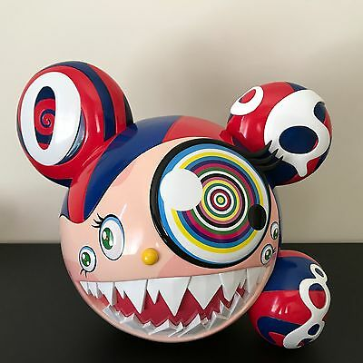 Takashi Murakami x Complex Con Mr DOB Figure BAIT SWITCH Red/Blue Figure