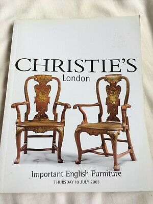 Christie's Important English Furniture London