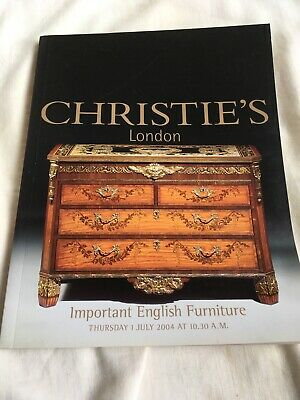Christie's London Important English Furniture