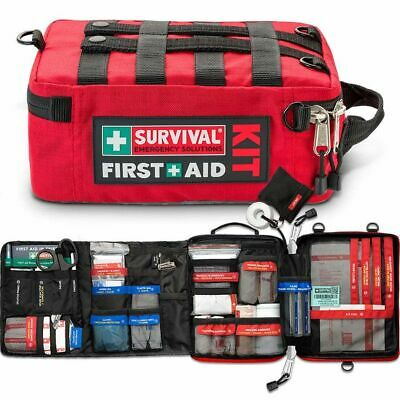 Survival Work/Home First Aid Kit Complete Organized Emergency CPR Mobile