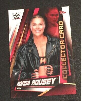 Topps Slam Attax Universe 2019 Ronda Rousey Collector card