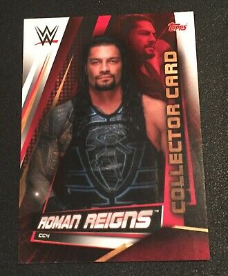 Topps Slam Attax Universe 2019 Roman Reigns Collector card