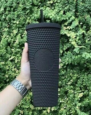 Fall 2019 Starbucks Matte Black Studded Tumbler Cup Limited Edition *New