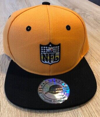 PITTSBURGH STEELERS Hat Cap NFL Logo Football BK Brand Embroidered Patch Style