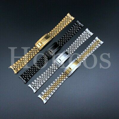 20MM Jubilee Oyster Clasp Watch Band Bracelet Fits for Rolex GMT Master 2 II