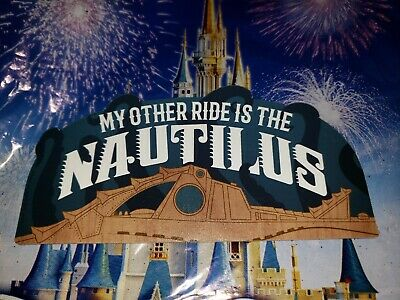 Disney Parks Nautilus 20,000 Leagues Under the Sea My Other Ride Car Auto Magnet