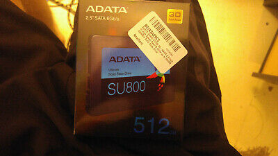 Adata Su800 512Gb 3D-Nand 2.5 Inch Sata Iii High Speed Read  Write Up To 560Mb/s