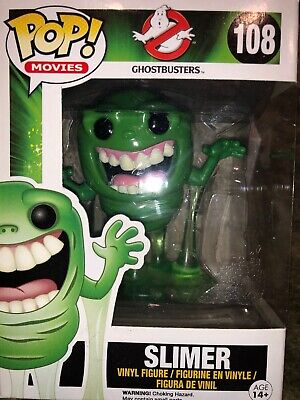 Funko Pop! Movies - Slimer - Ghostbusters  #108
