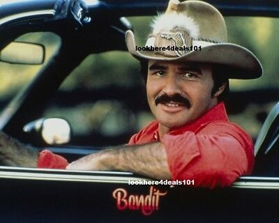BURT REYNOLDS PHOTO 8X10 Movie Smokey and the Bandit Actor Free Shipping