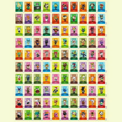 NEW Animal Crossing Amiibo Cards Complete Set - Series 1, 2, 3, 4 US NA
