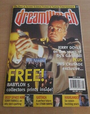Dreamwatch Magazine Babylon 5 Prints No #45