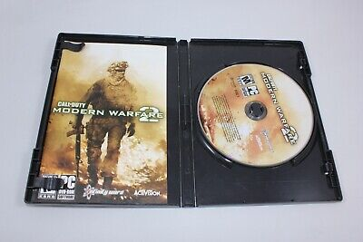 Call Of Duty: Modern Warfare 2 for PC - Includes Case, 2 disks, and manual.