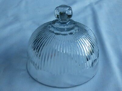 Cloche A Fromage En Cristal Portieux Vallerysthal Signee