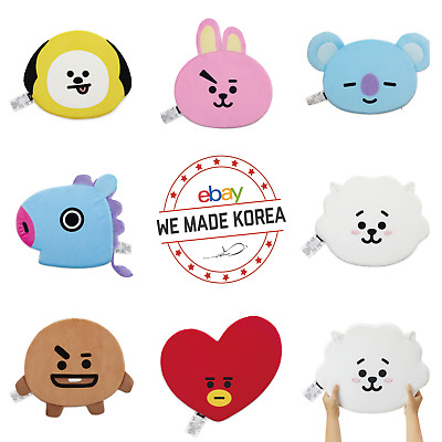 BT21 Character Face Sitting Pad Cushion 380x360mm Official KPOP Authentic MD