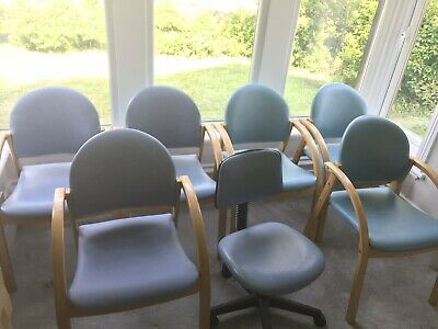 Reception Staff Waiting Room MeetIng Room Chairs - Seats - Seating Office Bd18