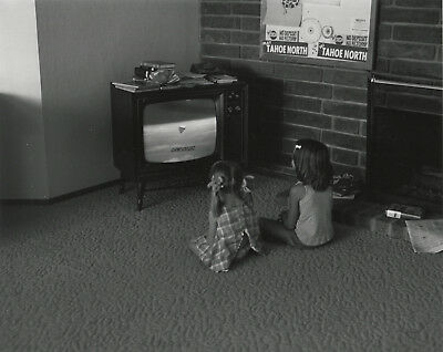 Bill OWENS: We'd rather play games than watch TV, CA, 1971 / SUBURBIA / SIGNED!