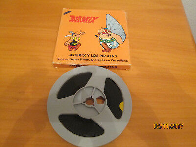 Pelicula super 8 Asterix color sonora