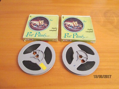 2 Pelicula super 8 para mayores color sonora