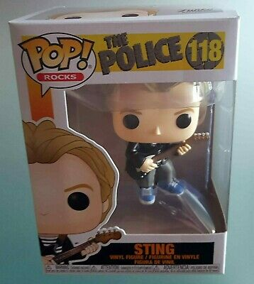 Sting The Police Funko Pop Rocks Figure