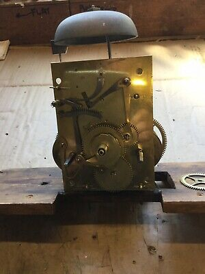 8 DAY   c1830  LONGCASE  CLOCK   movement  for spares or reprair