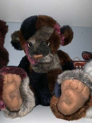 Charlie Bears Oodles Large Patchwork Bear Retired