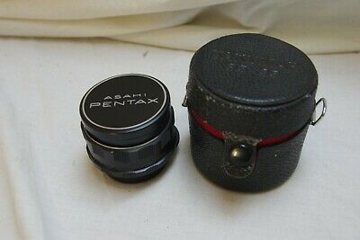 Asahi Pentax  Takumar 35mm f3.5 M42 Screw Mount with case