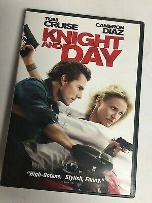Knight and Day (DVD,2010,Widescreen) Tom Cruise,Cameron Diaz,Not a Scratch! USA!