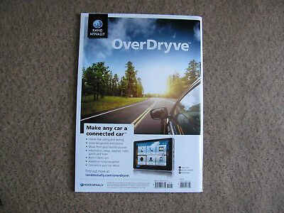 Rand Mcnally OverDryve Road Atlas 2018 America's BEST Travel Maps Made in USA