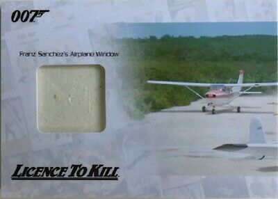 James Bond Archives 2014 Edition JBR30 Relic Card Airplane Window