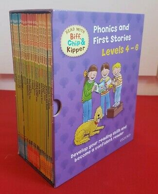 ~~Read with Biff, Chip & Kipper Phonics and First Stories Levels 4-6 Box Set