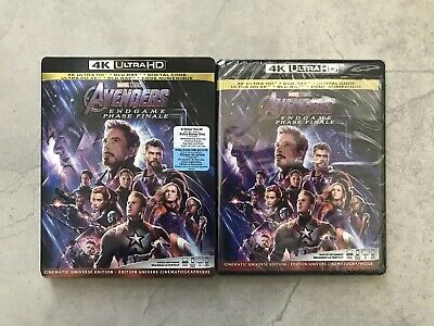 Avengers: Endgame (4K Ultra HD + Blu-ray + Digital, Bilingual)