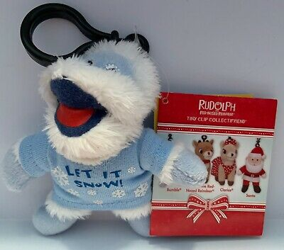 Build A Bear Bumble The Abominable Snowman Tiny Bumble Clip Rudolph Collection