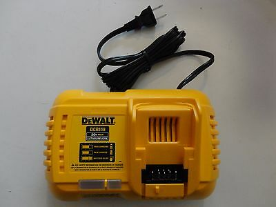 DEWALT DCB118 20V 60V MAX FLEXVOLT Lithium Ion Fan Cooled Fast Charger DCB118B