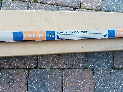 22 x OSRAM  5FT LUMILUX L58W/840 FLUORESCENT LAMPS COOL WHITE - COLLECTION ONLY
