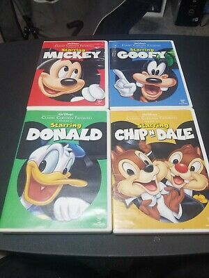 Walt Disneys Classic Cartoon Favorites 4 DVD LOT (Volume 1-4) OOP